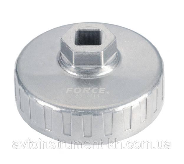 "Съемник масляного фильтра ""чашка"" 15/74 мм 6317415F"