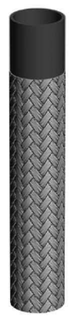 Топливный рукав с металлической оплеткой, —40°C/+80°C, 2— 20 мм; 1437