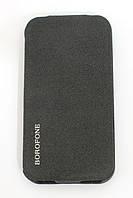 Чехол-книжка для Apple iPhone 4/4S, Borofone, вертикальный, Черный /flip case/флип кейс /айфон