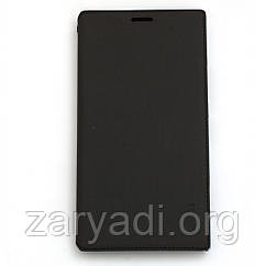 Чехол-книжка для Nokia Lumia 1520, боковой, Capdase, Черный /flip case/флип кейс /нокиа