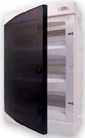 Щит внутрішній розподільчий 12 модулів (12 місць для автоматичних вимикачів, біла двері)
