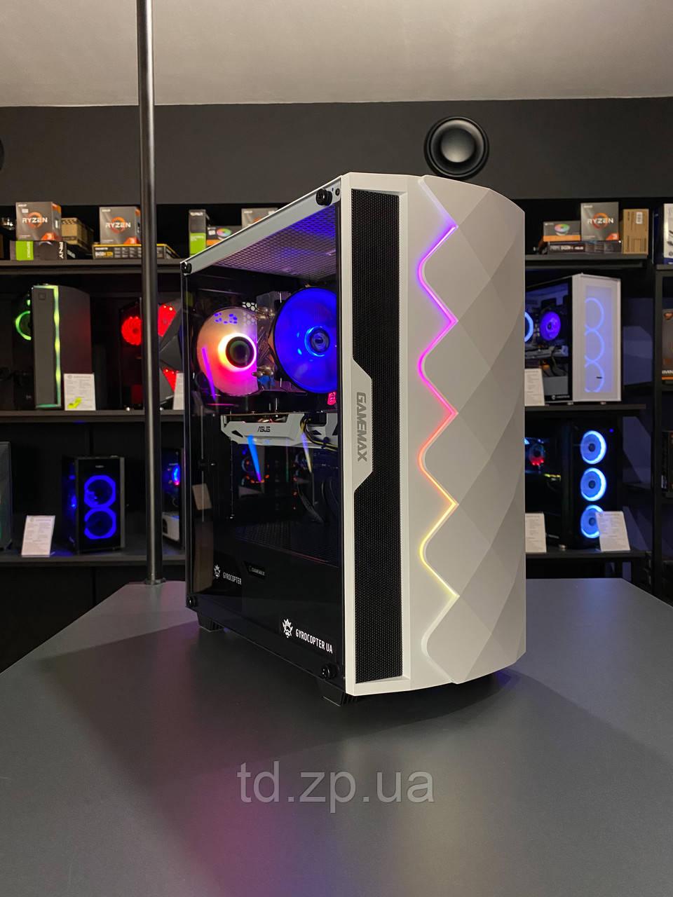 Игровой компьютер Intel Core i3-10100f + GTX 1660 Super 6Gb + RAM 16Gb + HDD 1000Gb + SSD 120Gb