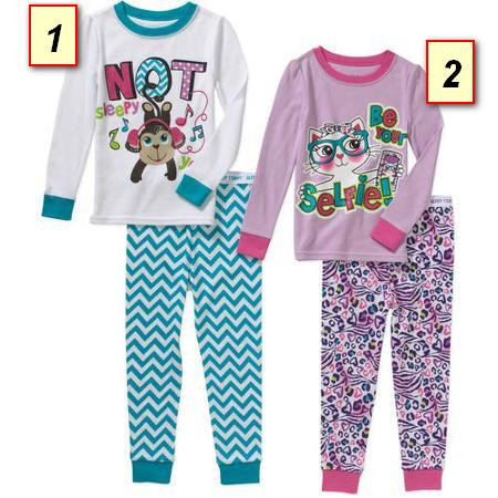 Пижама детская для девочки Гаранималс d30b9239ea570