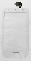 Оригинальный тачскрин / сенсор (сенсорное стекло) для Lenovo S680 (белый цвет)