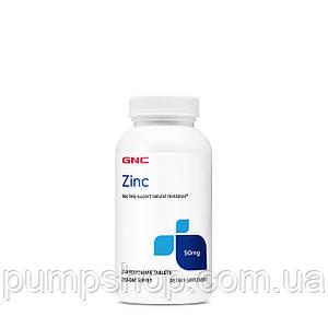 Цинк глюконат GNC Zinc 50 mg 250 таб.