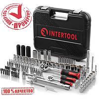 Набор инструментов 111 ед. 1/2'',1/4 INTERTOOL ET-8111, фото 1