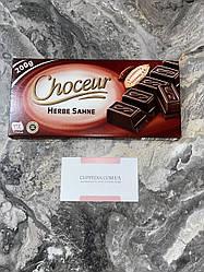 Черный шоколад Choceur Herbe Sahne 200 гр