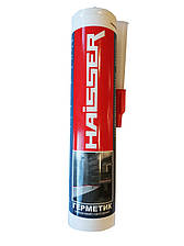 Герметик силиконовый, санитарный 280мл (белый), HAISSER