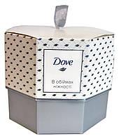 Подарочный набор Dove В объятиях нежности (крем-мыло + антиперспирант шариковый)