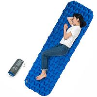 Туристический надувной коврик, каремат Naturehike NH19Z032-P