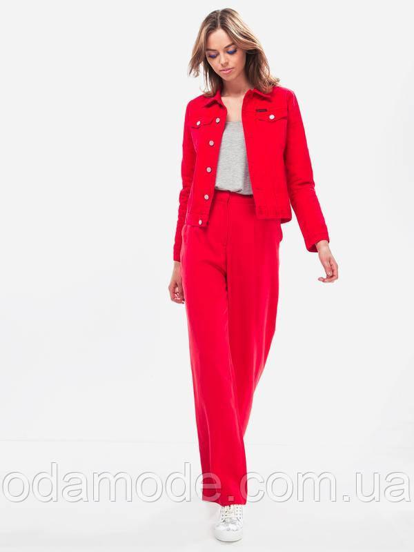 Женские красные брюки  Selected