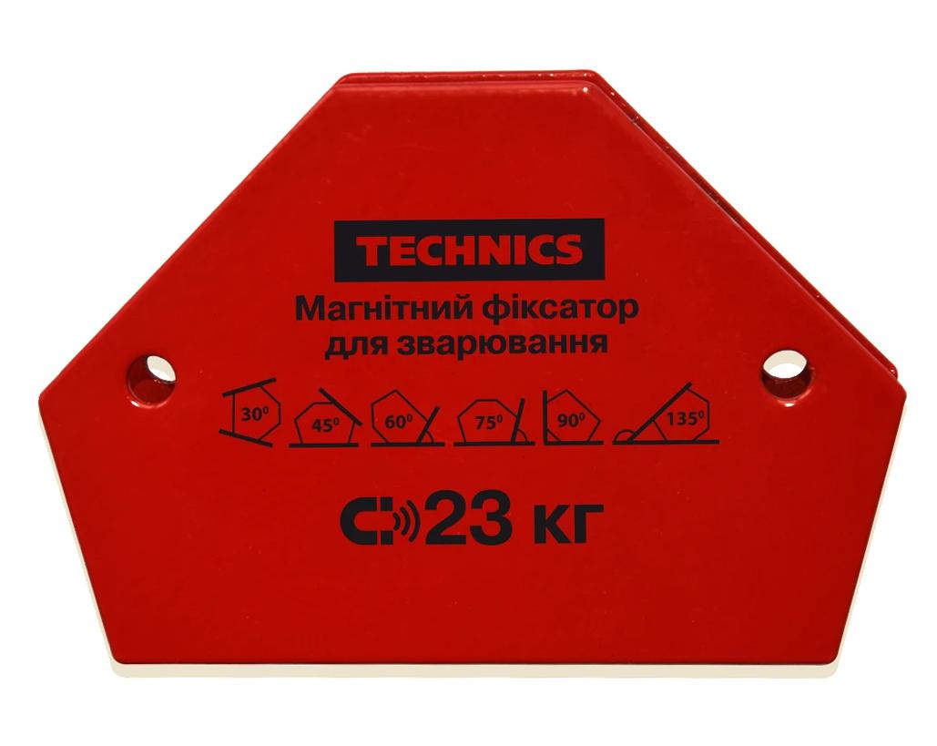 Магнитный фиксатор Technics для сварки 23 кг 120 х 90 мм (12-164)