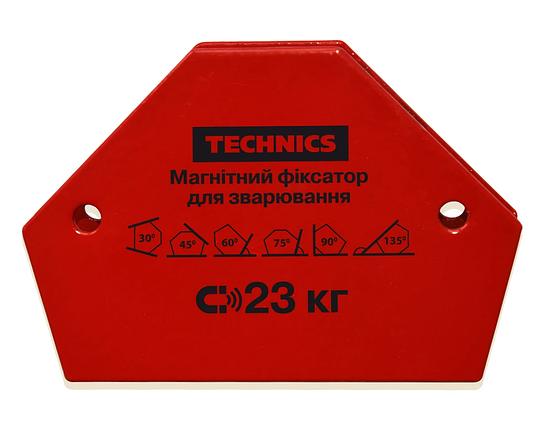 Магнитный фиксатор Technics для сварки 23 кг 120 х 90 мм (12-164), фото 2