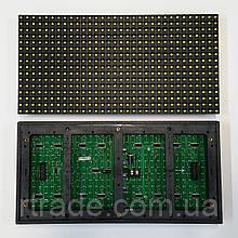 LED модуль, Жовтий, P10, DIP, зовнішній