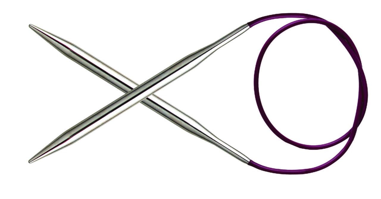 Спицы круговые Nova Metal KnitPro 80см