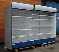 Холодильная горка (Регал) «IGLOO KING» линия 2.9 м. (Польша), LED – подсветка, Б/у, фото 1