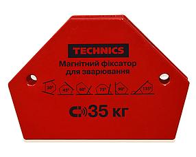 Магнитный фиксатор Technics для сварки 35 кг 145 х 110 мм (12-165)