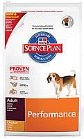Сухой корм для собак с повышенной активностью Hills (Хилс) Canine Adult Performance Курица 12 кг