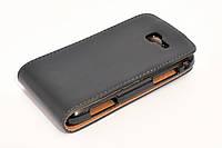 Чехол-книжка для Samsung Galaxy Trend 2 Duos S7572, Chic Case, GT-S7572, Черный /flip case/флип кейс /самсунг галакси