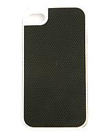 Чехол-накладка для Apple iPhone 4/4S, NetStar, силиконовый прорезиненный, Черный /case/кейс /айфон
