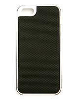 Чехол-накладка для Apple iPhone 5C, NetStar, силиконовый прорезиненный, черный /case/кейс /айфон