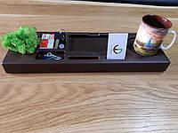 Органайзер настольный подарочный  со мхом, фото 1