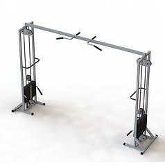 Тренажер для кинезитерапии МТБ-2 стеки 2х105 кг, рама 60х60 мм