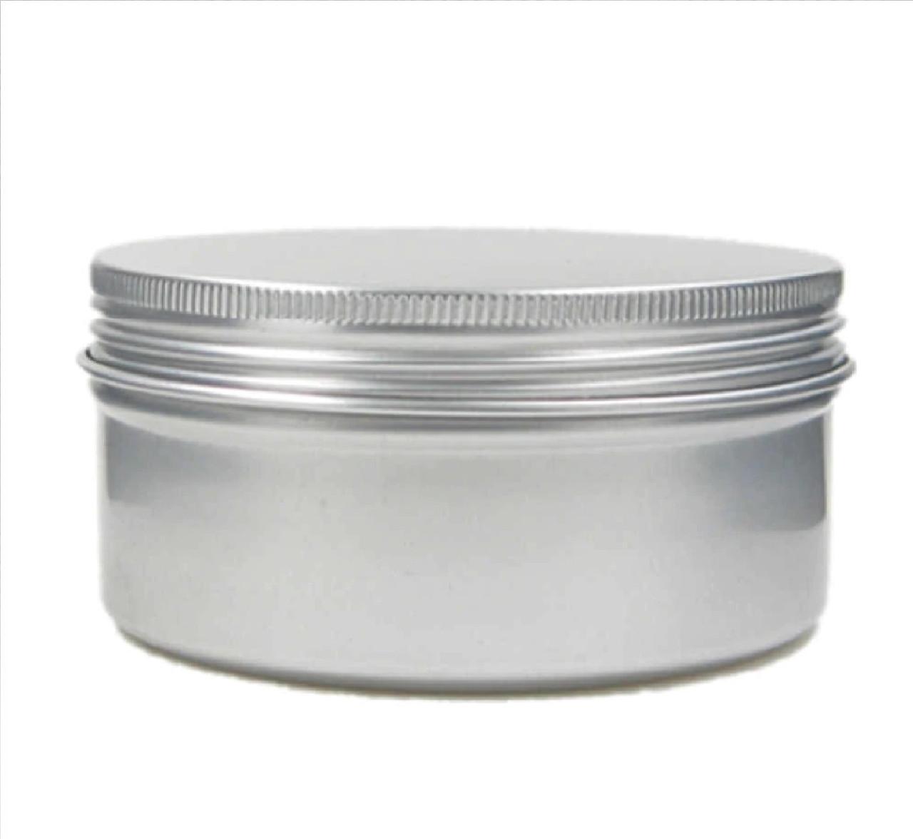 Алюмінієва 200 мл баночка для бальзаму, крему, мазі