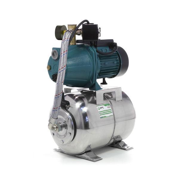 Насосная станция  APC JY-1000 1.1 кВт с баком 24л нержавейка