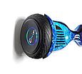 Гироскутер smart balance 10.5 дюймов  голубой космос, фото 4