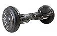 Гироскутер smart balance 10.5 дюймов  голубой космос, фото 7