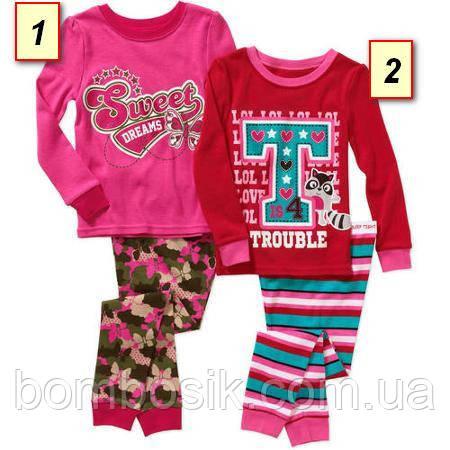 da83b5664ab6 Пижама детская для девочки Гаранималс, Garanimals США (24М,3Т,4Т,5Т ...