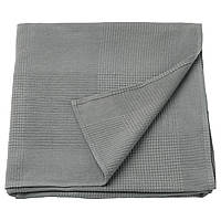 ИНДИРА Покрывало, серый, 150x250 см, 00389072, IKEA, ИКЕА, INDIRA