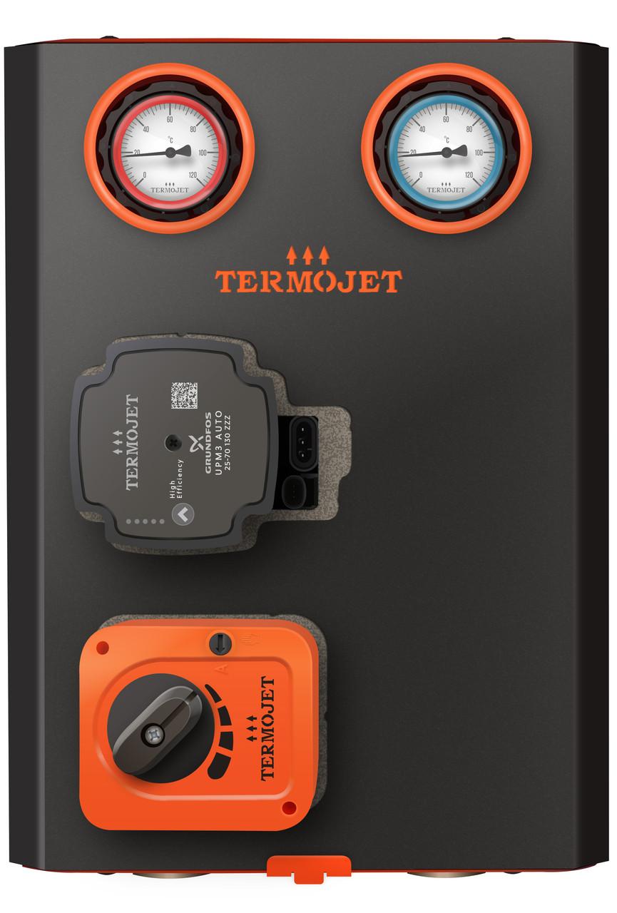 """Насосная группа Termojet 1 1/4"""" со смешивающим узлом НГ - 52'"""