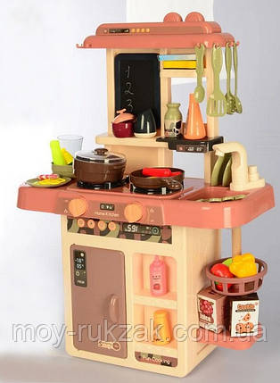 Детская игровая кухня с паром и водой, 63×45,5×22 см, 889-188, фото 2