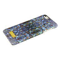 Чехол-накладка для Apple iPhone 6 Plus, Цветы, пластиковый, Soft touch, Ted Baker, Синий /case/кейс /айфон