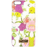 Чехол-накладка для Apple iPhone 6 Plus, цветы, пластиковый, Soft Touch, Ted Baker, Петуния /case/кейс /айфон