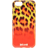 Чехол-накладка для Apple iPhone 6S iPhone 6, Just Cavalli, оранжевый /case/кейс /айфон