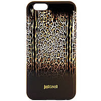 Чехол-накладка для Apple iPhone 6S iPhone 6, Just Cavalli, Коричневый /case/кейс /айфон