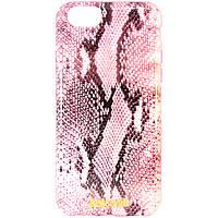 "Чехол-накладка для Apple iPhone 6, ""Питон"", Just Cavalli, Розовый /case/кейс /айфон"