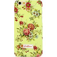 Чехол-накладка для Apple iPhone 6, поликарбонат, Cath Kidston, Светло-зеленый /case/кейс /айфон