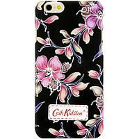 Чехол-накладка для Apple iPhone 6 iPhone 6S, поликарбонат, Cath Kidston, Черный /case/кейс /айфон
