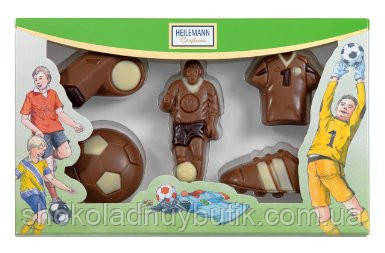 "Heilemann Confiserie шоколадные фигурки ""Футбол"" 100г"