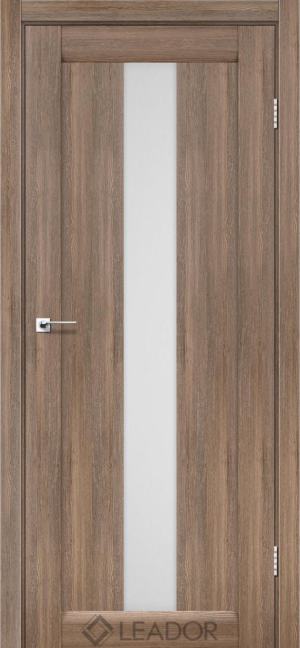 Двери Leador BARI серое дерево ПО