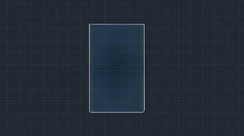 Защитное гибридное стекло на монитор 9H TESLA MODEL S 2016