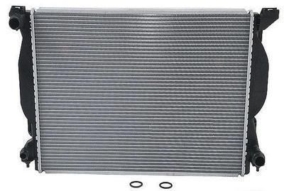 Радиатор охлаждения Audi A4 2002- (3.0 3.2 FSI) 630*445*32мм плоские соты KEMP