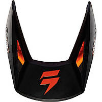 Козырек для мото шлема SHIFT WHIT3 HELMET VISOR [MT BLACK], M/L
