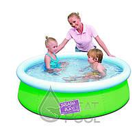 Надувной бассейн Bestway 57241 (152x38см) Green