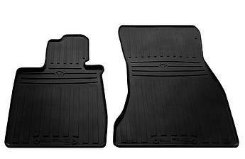 Коврики в салон резиновые передние для  BMW 7 G11 2015- Stingray (2шт)