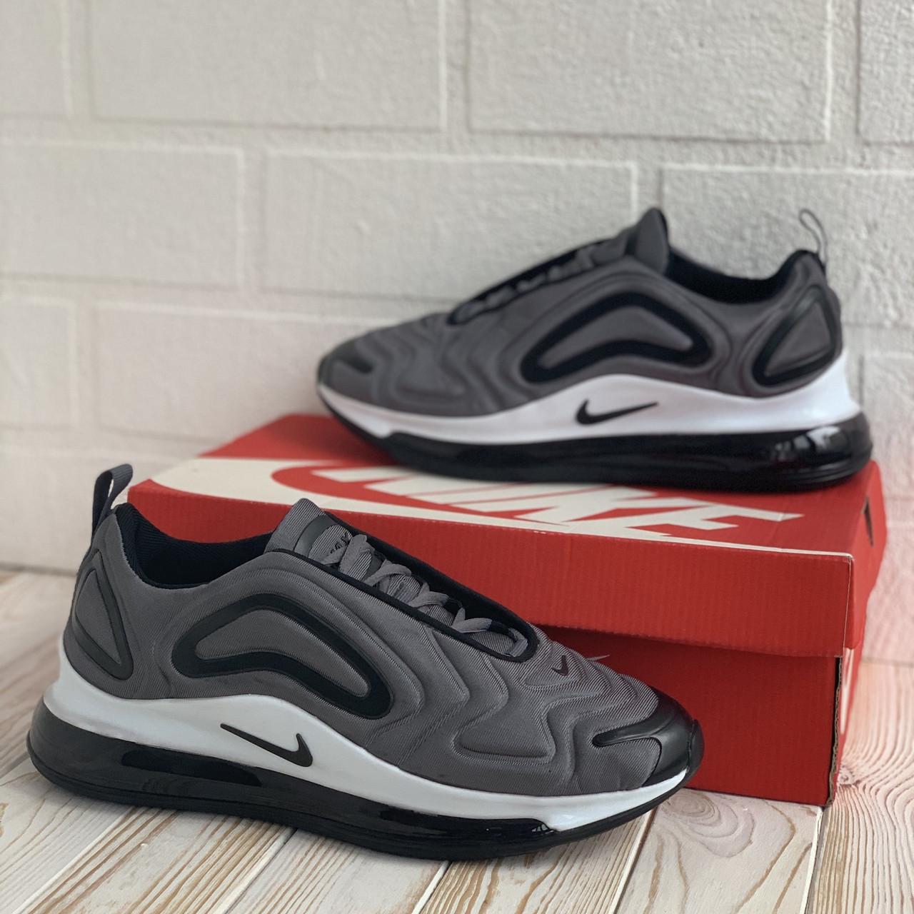 Nike Air Max 720 сірі кросівки, кеди найк чоловічі кросівки 44-45р.